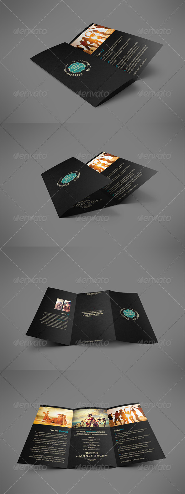 GraphicRiver Luxury Retro Brochure Tri-fold 4118977