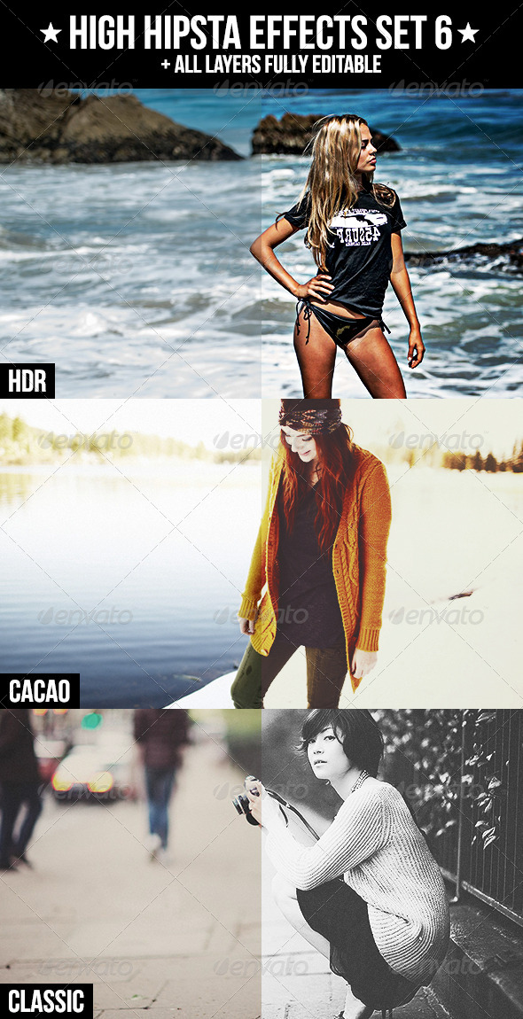 GraphicRiver High Hipsta Effects Set 6 4293845