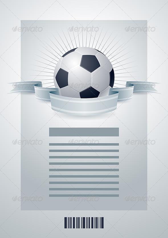 GraphicRiver Soccer Ball Design Template 4293937