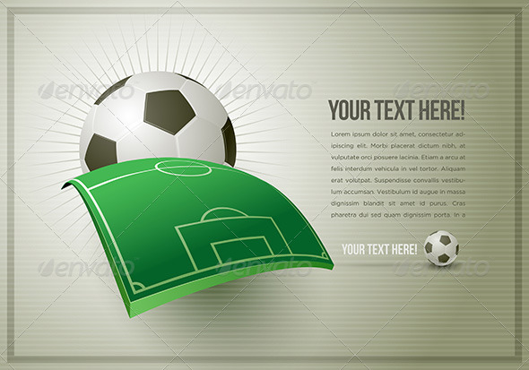 GraphicRiver Abstract Soccer Design Template 4293958