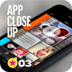 App UI Close-Up Mock-Up Essential Bundle