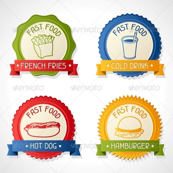 GraphicRiver Set of Badges 4294830