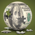 Dollar Globe - PhotoDune Item for Sale
