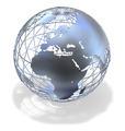 Metallic Globe - PhotoDune Item for Sale