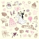 Wedding Set. Hand Drawn Illustration. - GraphicRiver Item for Sale