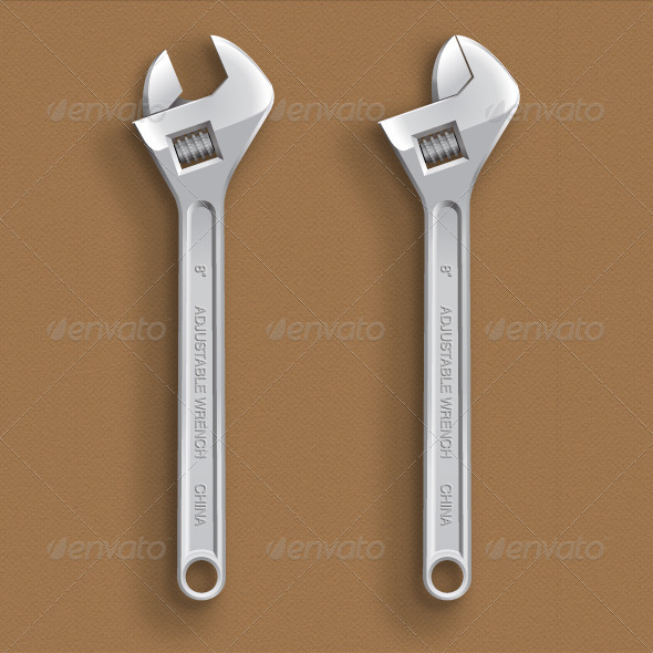 GraphicRiver Wrench 4169324