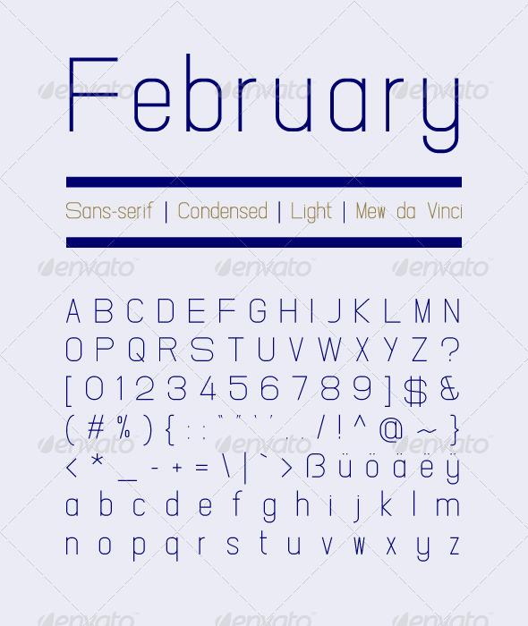 GraphicRiver February Light 4298356
