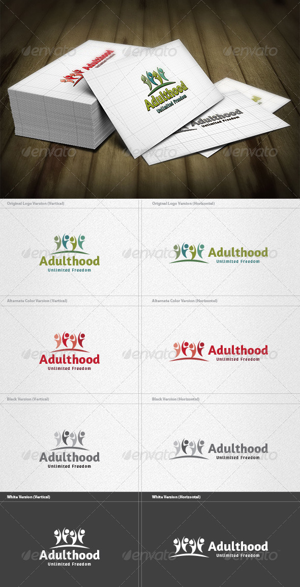 GraphicRiver Adulthood Logo 4298760