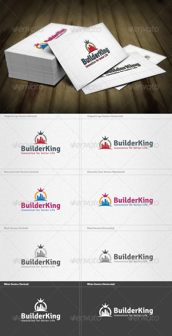GraphicRiver King Builder Logo 4298773