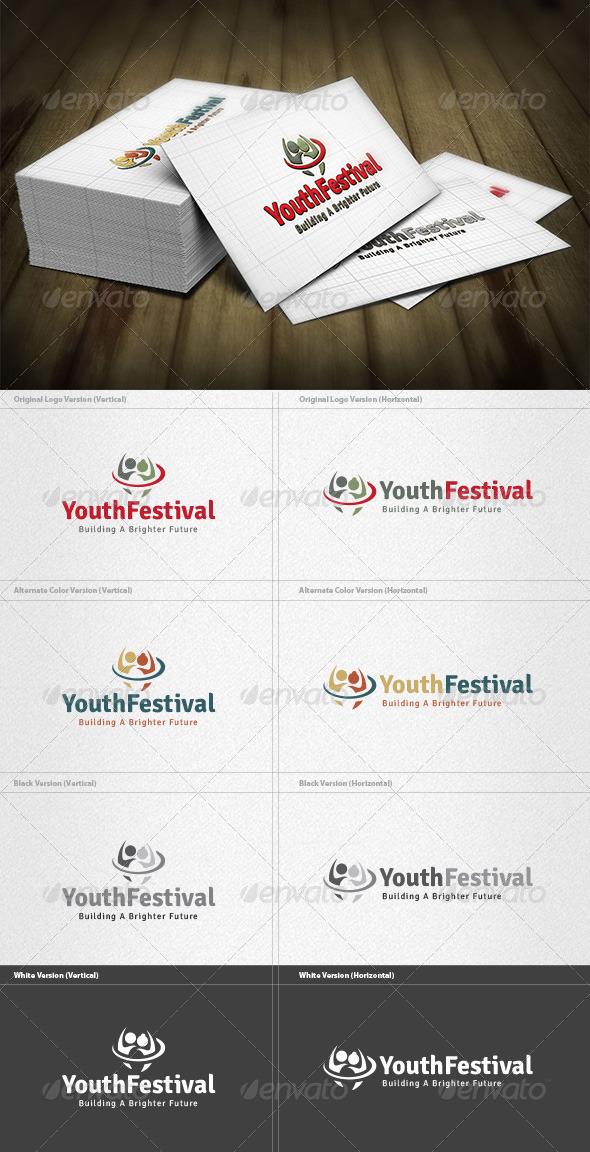 GraphicRiver Youth Festival Logo 4298846