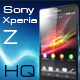 Smartphone Sony Xperia Z (Black, HQ) - 3DOcean Item for Sale