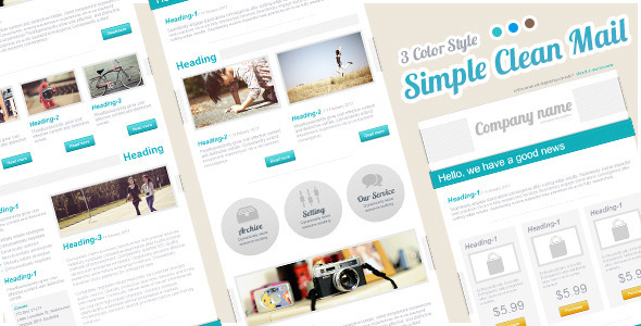 ThemeForest Simple Clean Mail 4299099