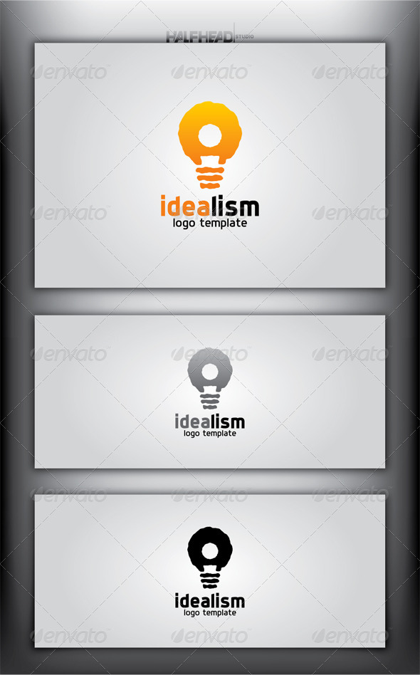GraphicRiver IDEALISM Logo Template 4299563