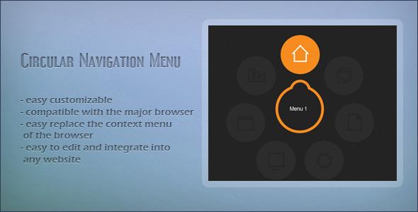 CodeCanyon Circle Navigation 4299626