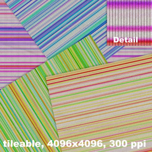 GraphicRiver Jersey Multicolor Stripes 4299646