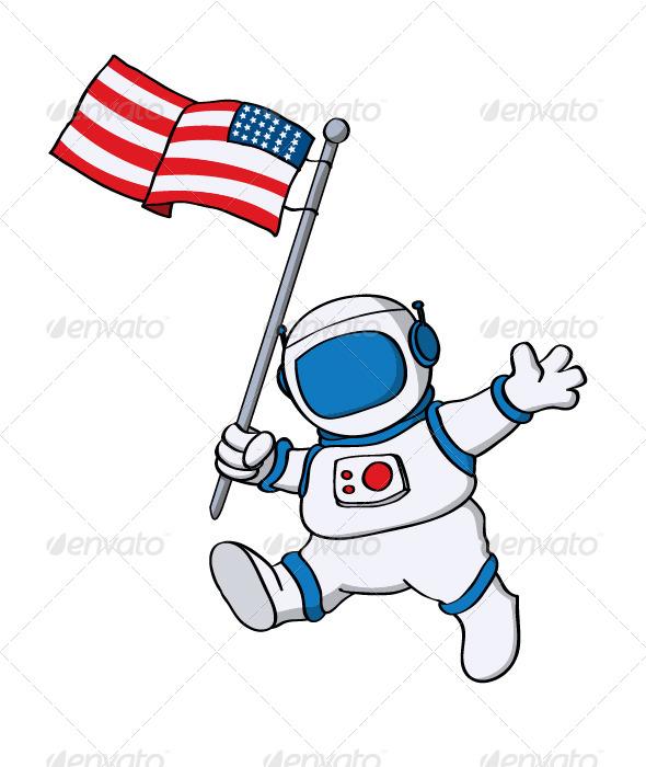 GraphicRiver Astronaut 4160823