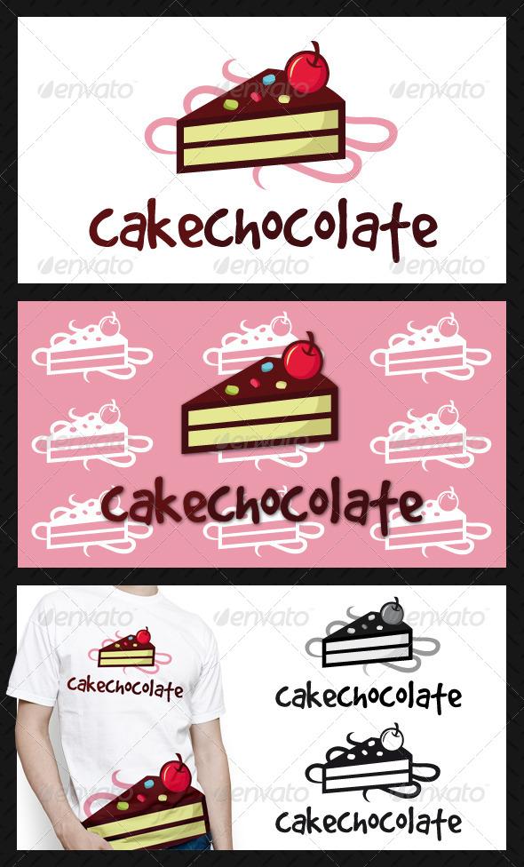 Cake Logo Template