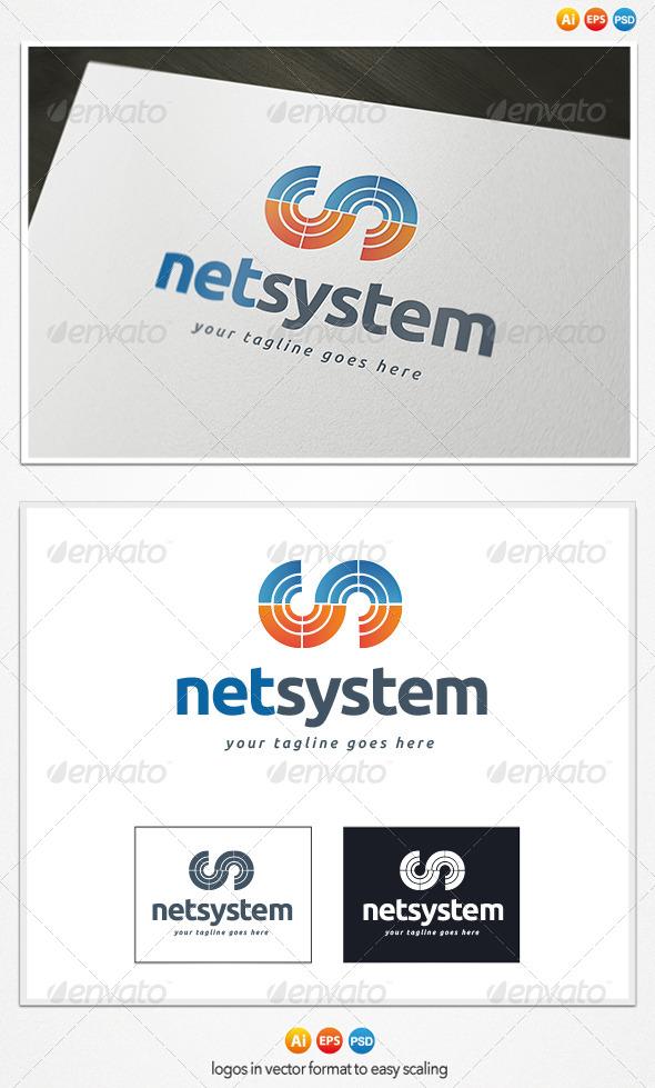 GraphicRiver Net System Logo 4300333