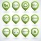 Eco Buttons Set - GraphicRiver Item for Sale