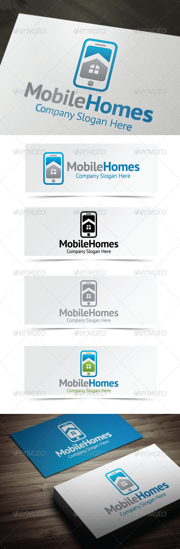 GraphicRiver Mobile Homes 4177549