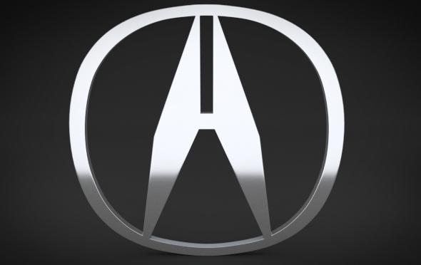 3DOcean Acura Logo 4301494