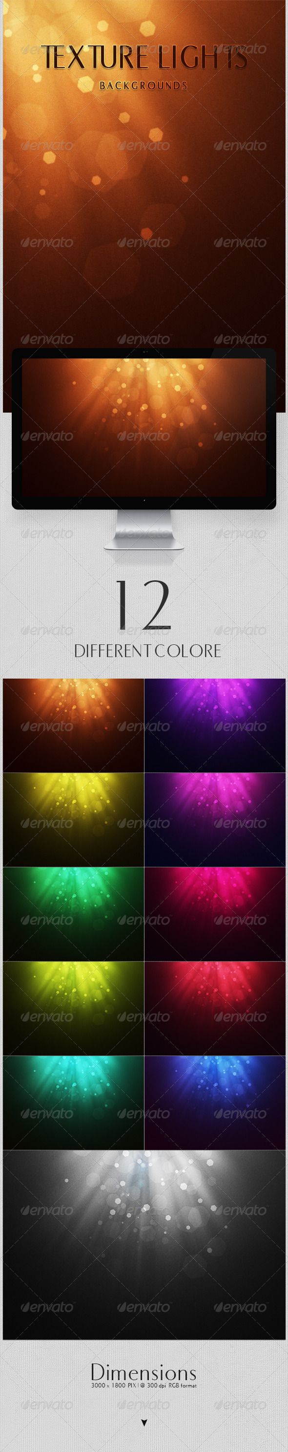 GraphicRiver Texture Lights Backgrounds 4301754
