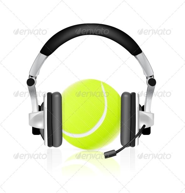 GraphicRiver Tennis Concept 4301757