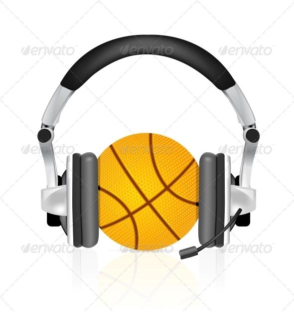 GraphicRiver Basketball Ball 4301772