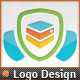 Web Security Server Shield Secure Host Logo - GraphicRiver Item for Sale