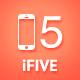 iFive Responsive Single Page App Site Template - ThemeForest Item for Sale