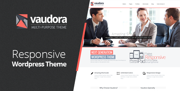 ThemeForest Vaudora Premium WordPress Theme 4303429