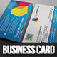 Colored Pixels Business Card - GraphicRiver Item for Sale