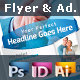 Template For Flyers and Magazine Ads - GraphicRiver Item for Sale