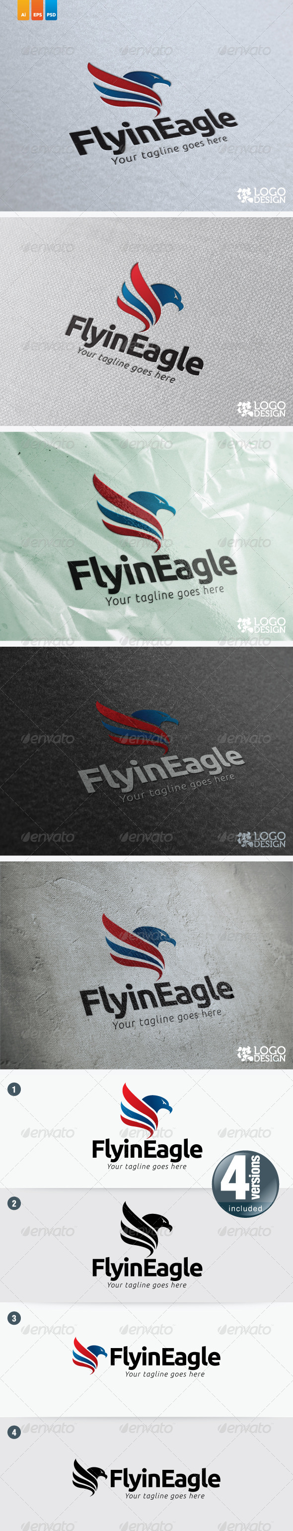 Flying Eagle - Animals Logo Templates