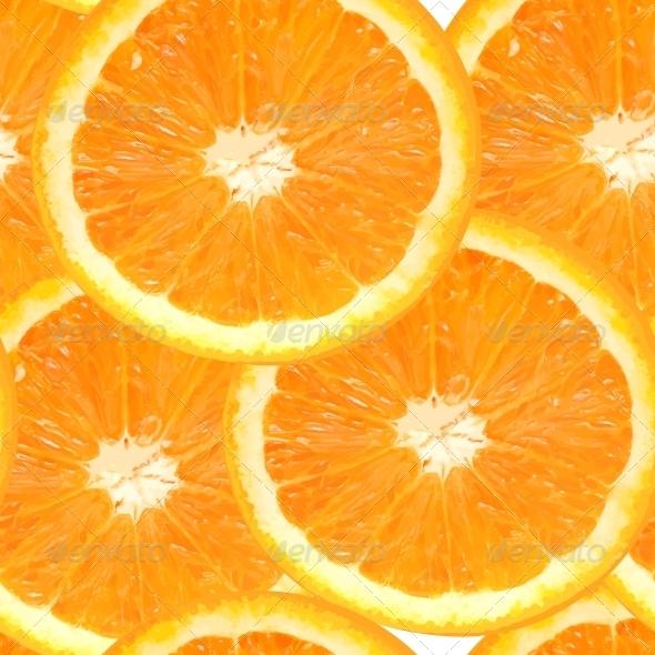 GraphicRiver Fresh Orange Seamless Pattern Background 4305882