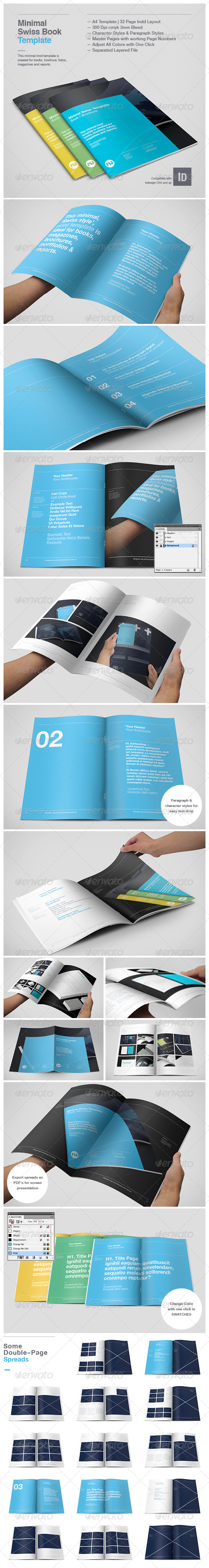 GraphicRiver Minimal Swiss Print Template 4137040