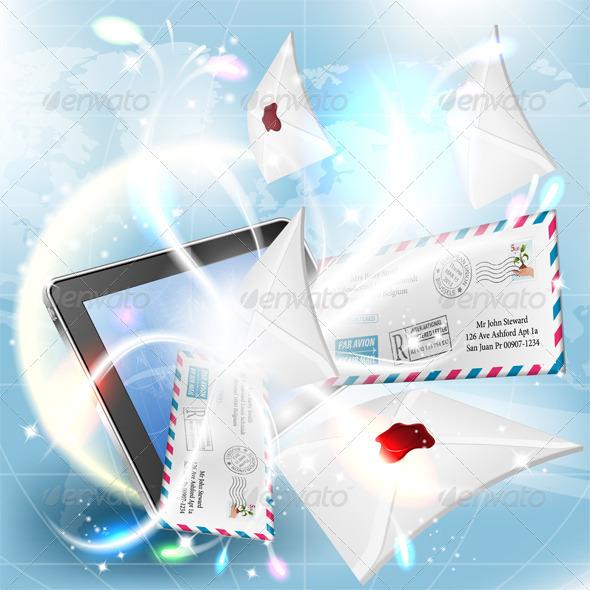GraphicRiver E-Mail Concept 4306931