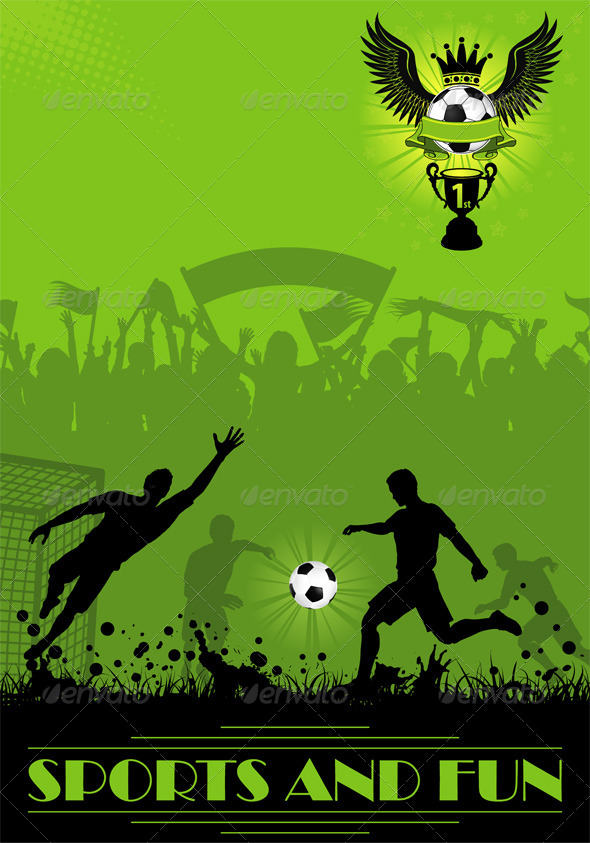 GraphicRiver Soccer Poster 4306942