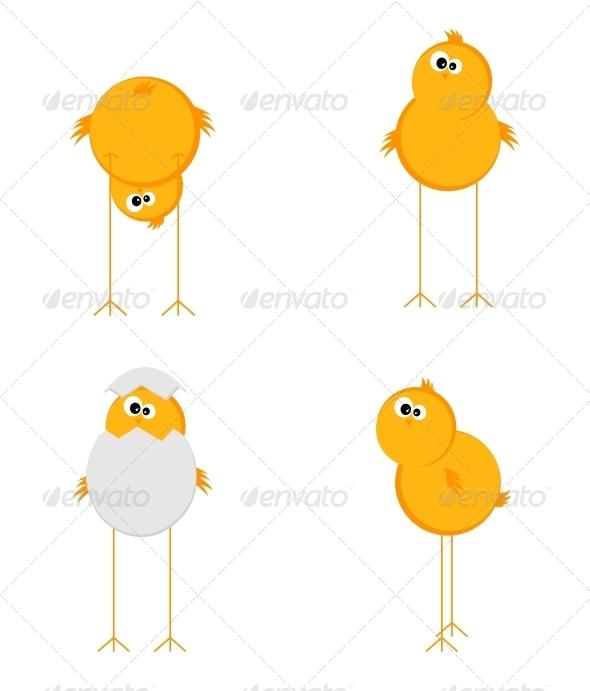 GraphicRiver Four Chick 4306964