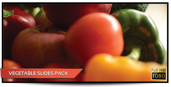 Vegetable Slides Pack