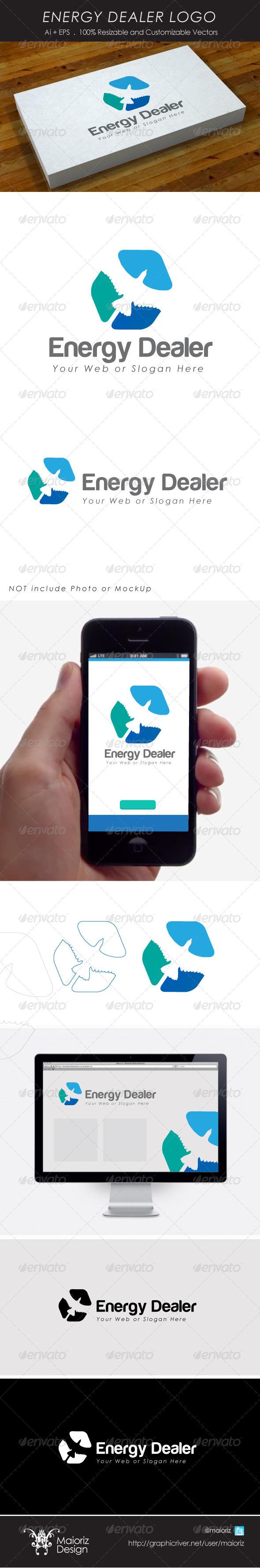 GraphicRiver Energy Dealer Logo 4307148