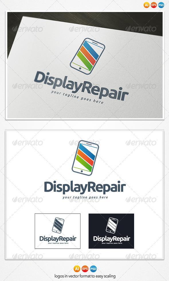 GraphicRiver Display Repair Logo 4308216