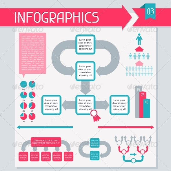 GraphicRiver Infographics Elements Collection Set 3 4308288