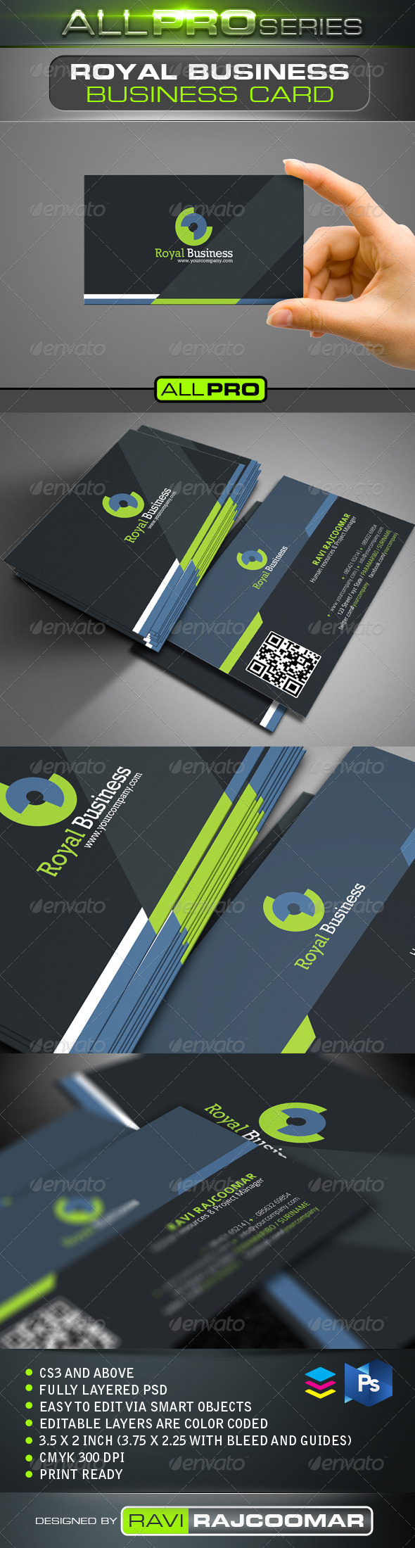 GraphicRiver Royal Business Card 4308726