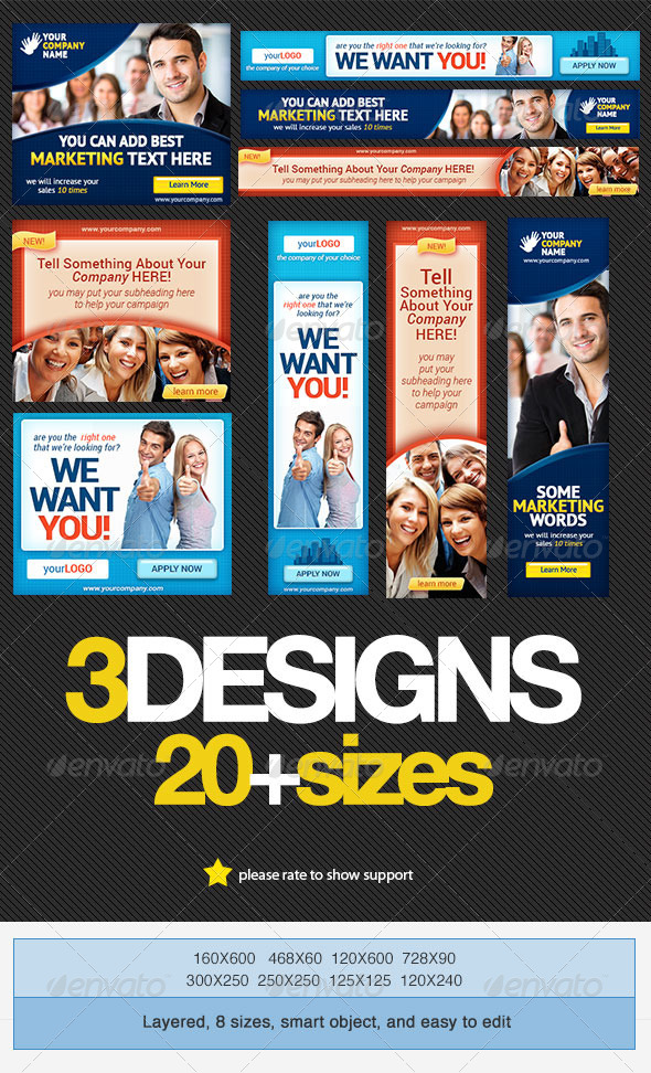 GraphicRiver Corporate Banner Set Bundle 2.0 4308852