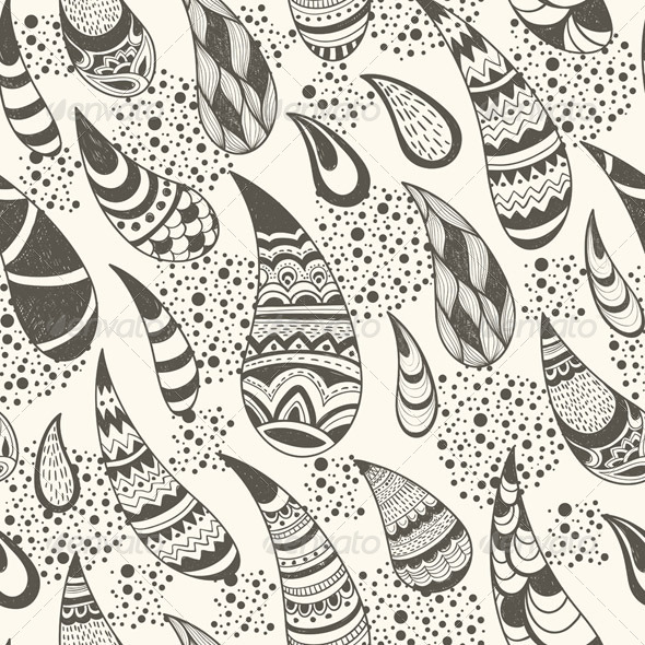 GraphicRiver Vector Seamless Paisley Pattern 4308922