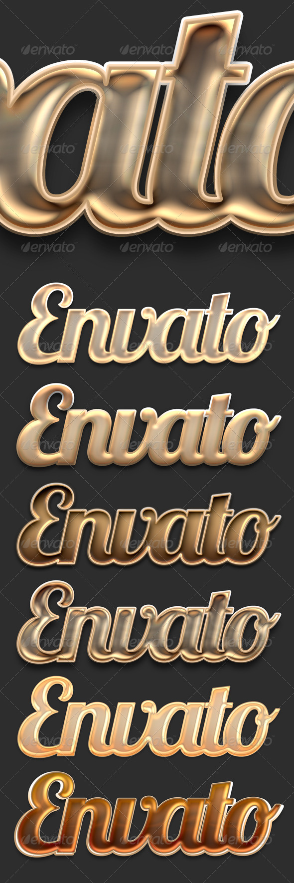 GraphicRiver Elegant Brown Text & Style 4309004