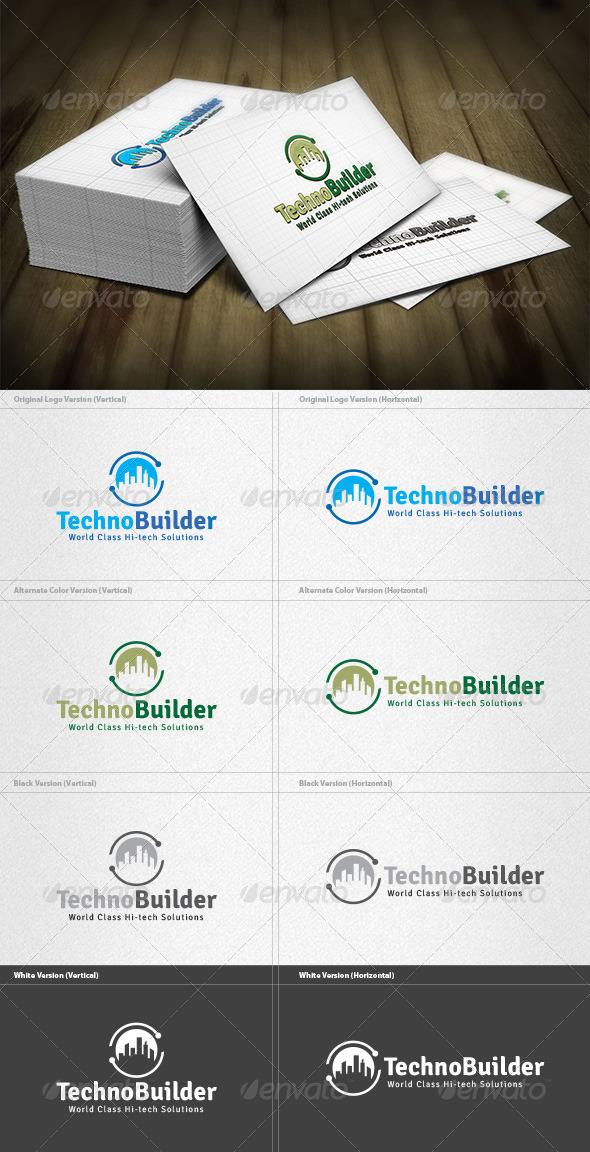 GraphicRiver Techno Builder Logo 4200238