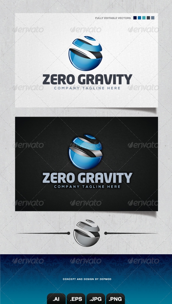 Zero Gravity Logo - Abstract Logo Templates