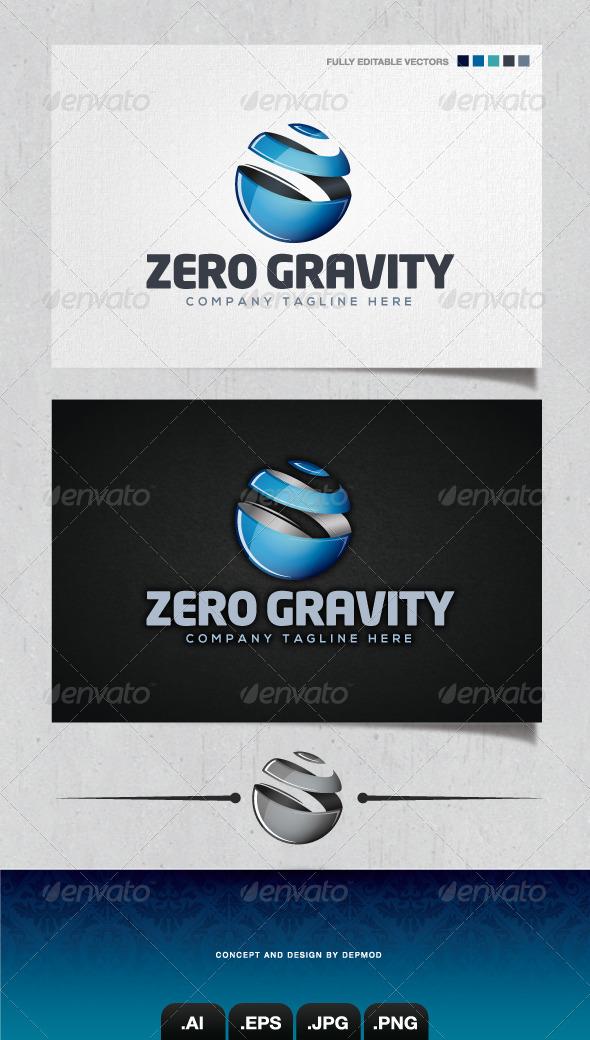 GraphicRiver Zero Gravity Logo 4310699